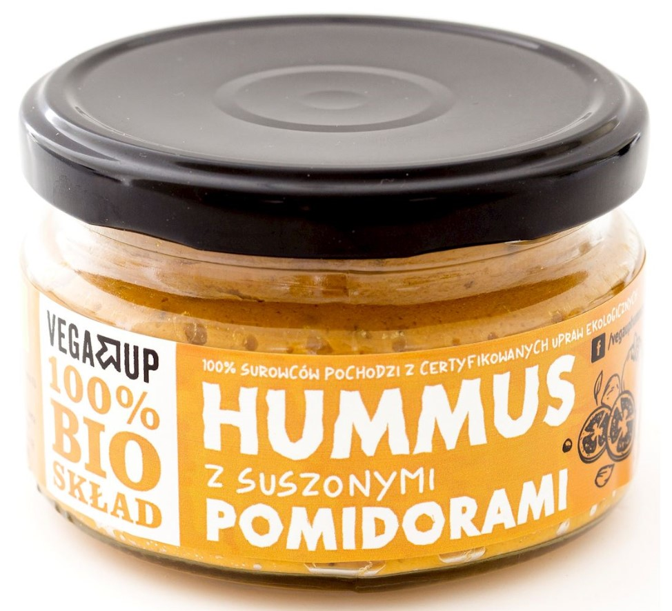 Vega Up, Hummus with Dried Tomatoes, 190g