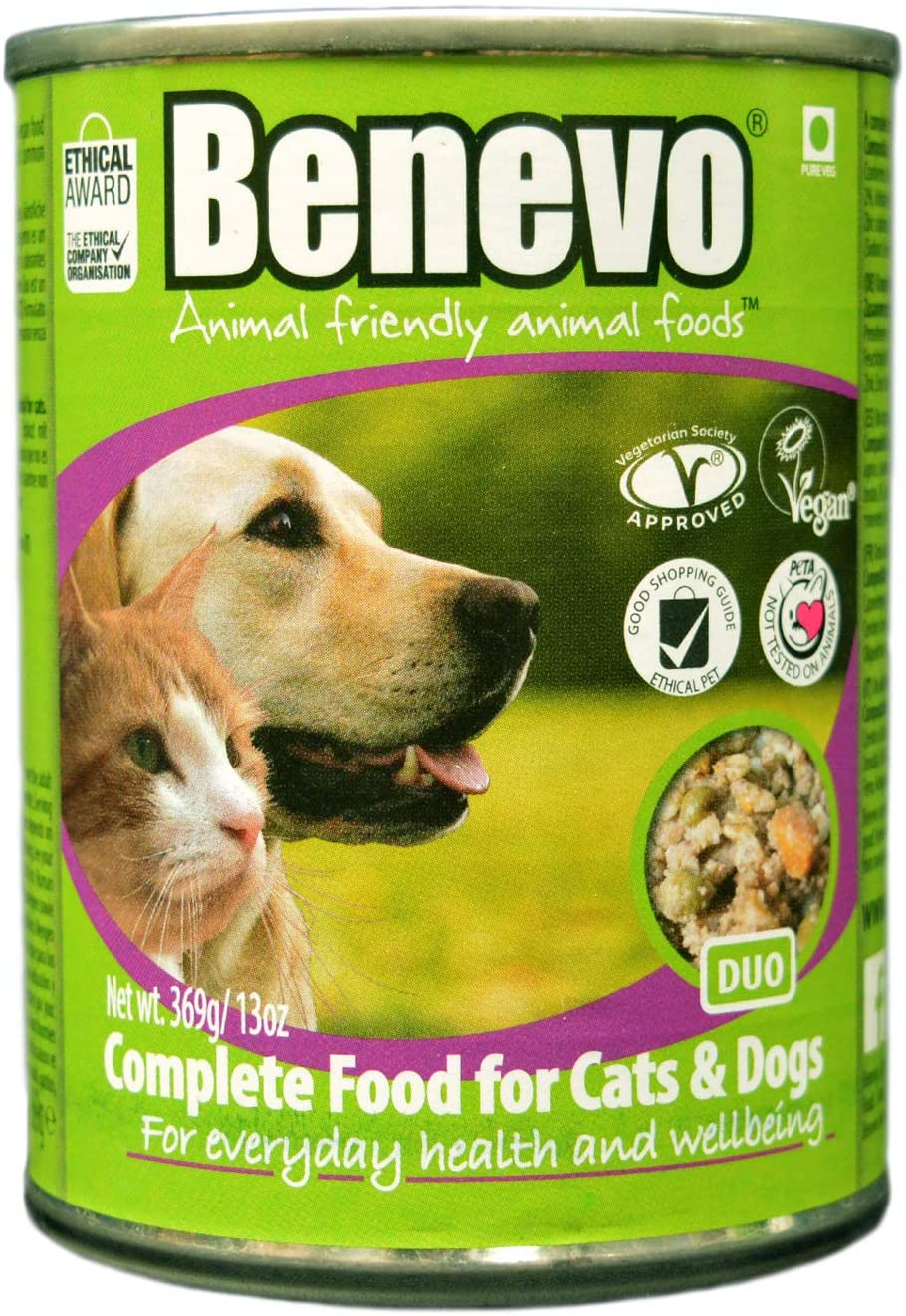Duo Complete Food for Cats and Dogs, 369g