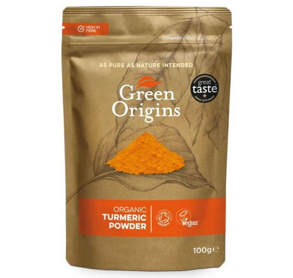 Green Organics, Turmeric Powder, 250g