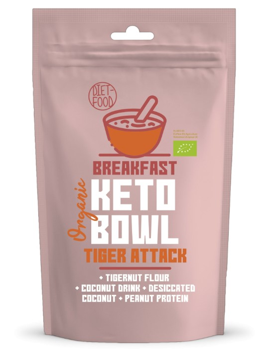 Diet-food, Keto Bowl Tiger Attack, 200g
