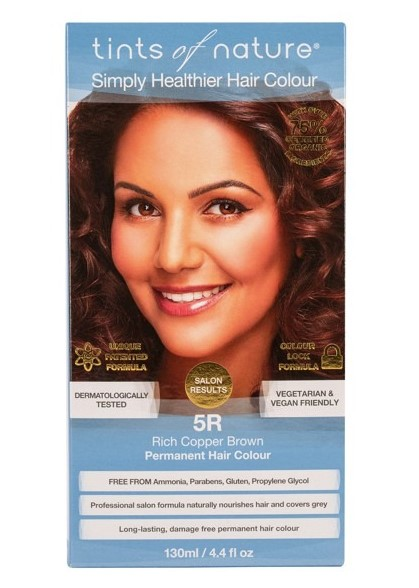 Tints of Nature, 5R Rich Cooper Brown Permanent Hair Colour