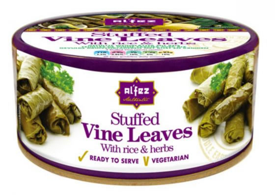 Stuffed Vine Leaves With Rice & Herbs, 280g