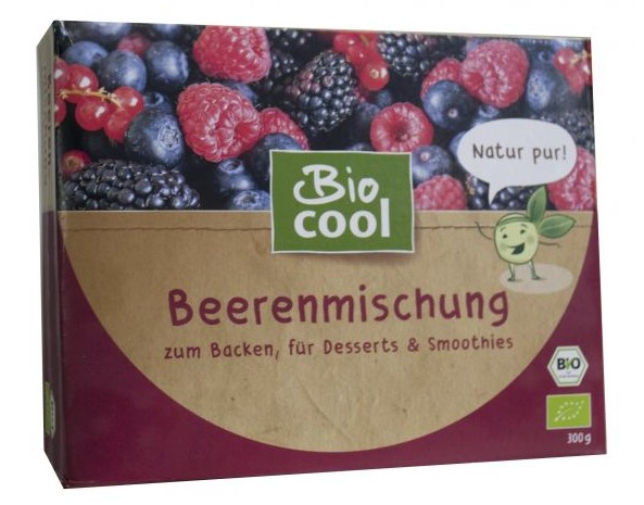 Biocool, Mixed Berries, 300g
