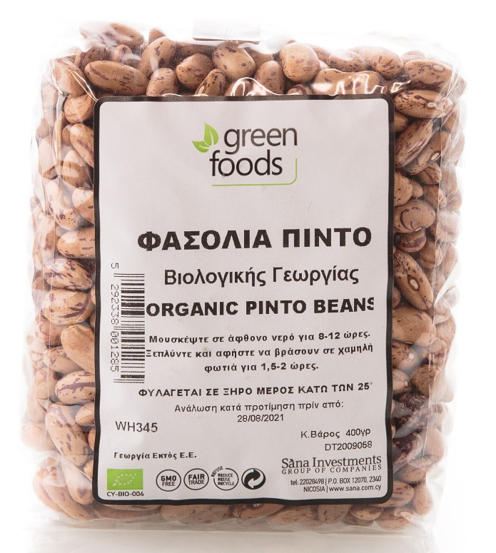 Green Foods, Pinto Beans, 400g