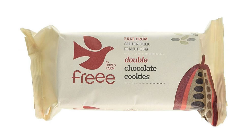 Doves Farm, Double Chocolate Biscuits, 180g