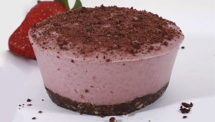 Healthy Delicious, Strawberry Cheesecake, 110g