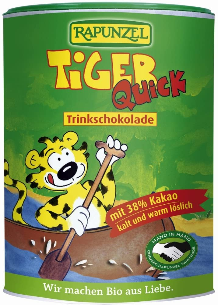 Rapunzel, Tiger Quick Drinking Chocolate, 400g