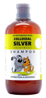 NGS, Colloidal Silver Shampoo for Pets, 250ml