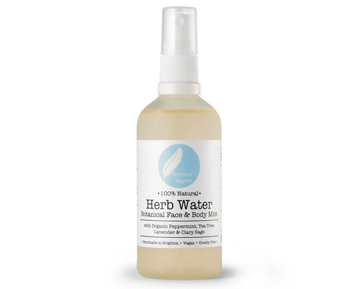 Herb Water Face & Body Mist, 100ml
