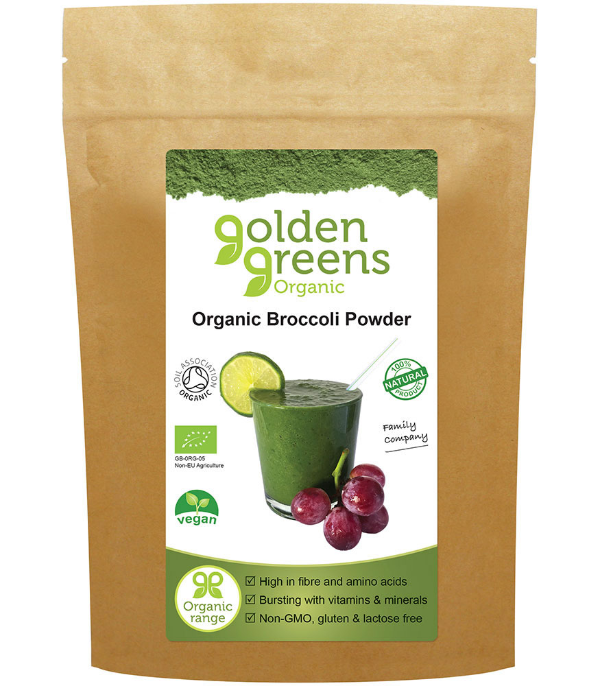 Golden Greens, Broccoli Powder, 200g