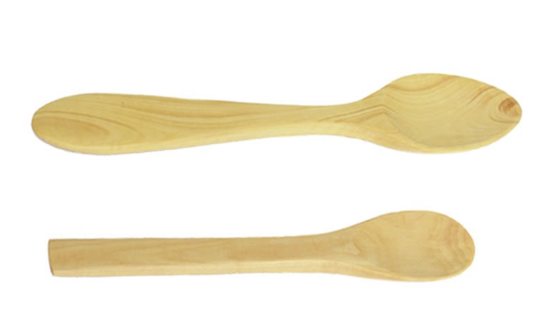 Boxwood Baby's Spoon, size: 14sm