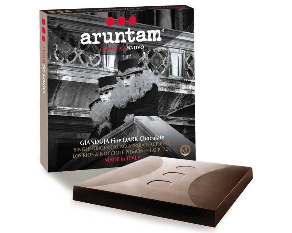 Aruntam, Gianduja Raw Chocolate Ecuador, 60g