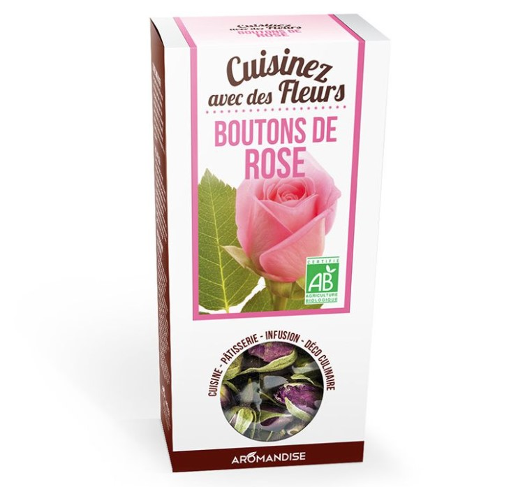 Edible Flowers Rosebuds, 30g