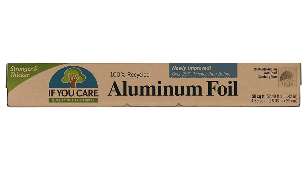 If You Care, Aluminium Foil 100% recycled, 10 meters