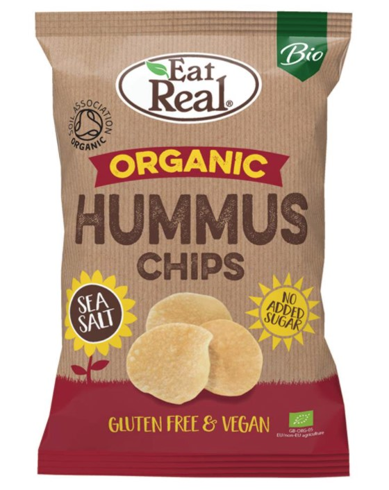 Hummus Chips Sea Salt, 100g