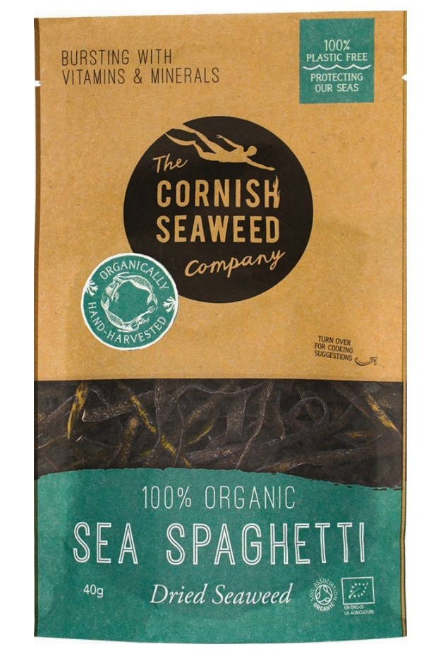 The Cornish Seaweed Company, Sea Spaghetti, 40g