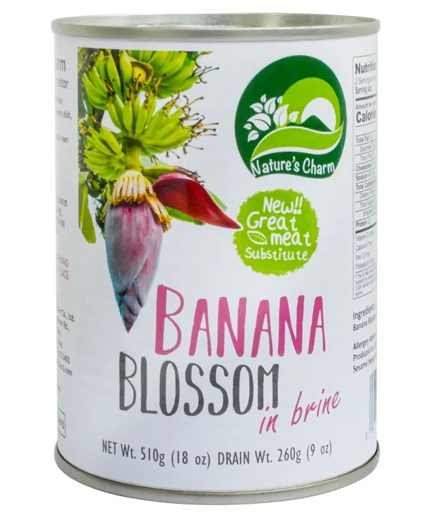 Nature's Charm, Banana Blossom in Brine, 510g