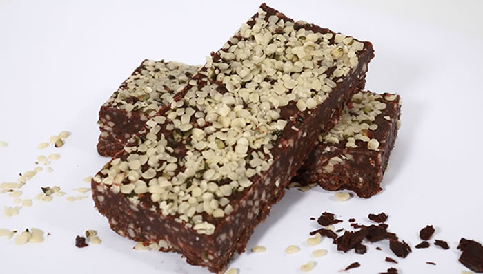 Healthy Delicious, Chocolate Hemp Brownie Energy bar, 50g