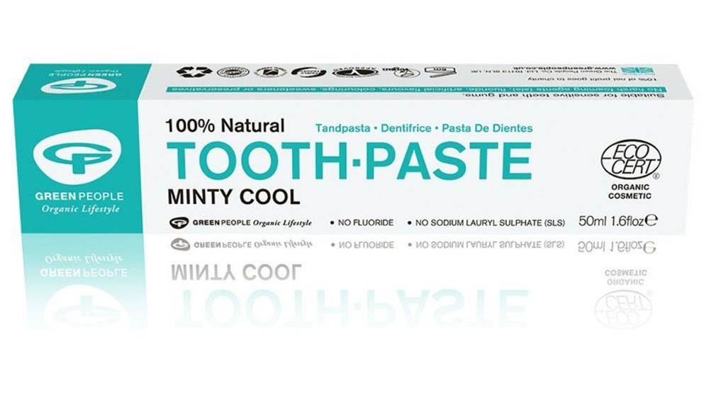 Green People, Minty Cool Toothpaste, 50ml