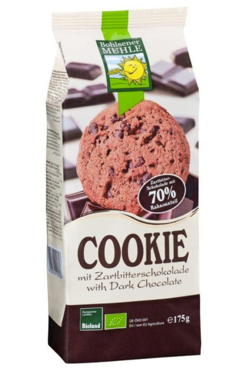 Bohlsener, Cookie with Dark Chocolate, 175g