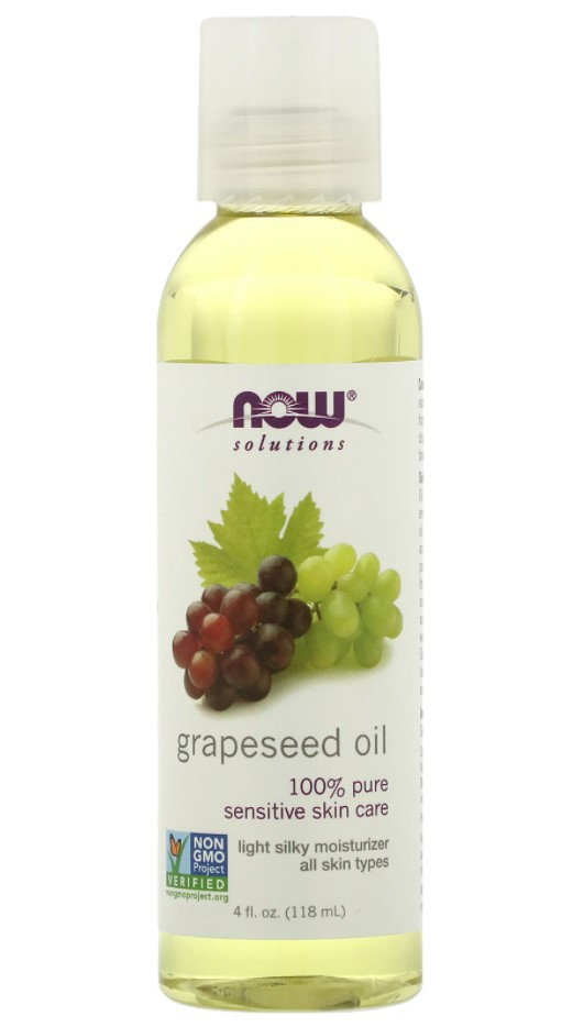 Now, Grapeseed Oil, 118ml