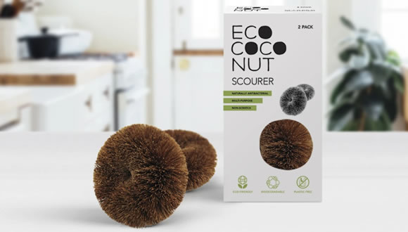 EcoCoconut, Twin Pack Scourers