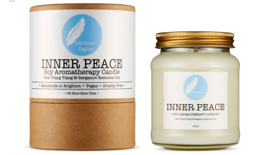 Inner Peace Soy Aromatherapy Candle 150ml