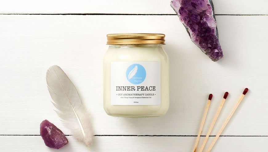 Corinne Taylor, Inner Peace Soy Aromatherapy Candle 150ml