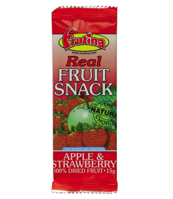 Apple Strawberry Fruit Snack, 15g