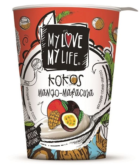 My Love My Life, Yogurt Coconut, Mango & Passion Fruit, 180g