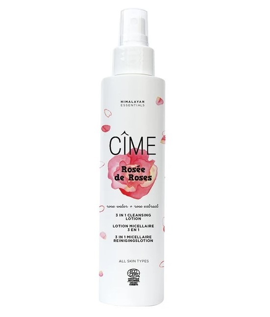 Cime, Rosée de Roses - 3 in 1 Micellar Cleansing Lotion