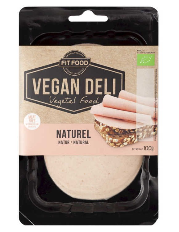 Fit Food, Natural Slices, 100g