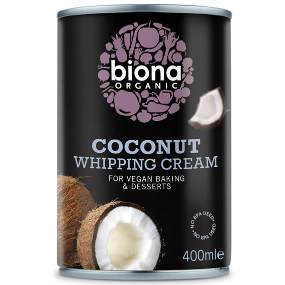 Biona, Coconut Whipping Cream, 400ml