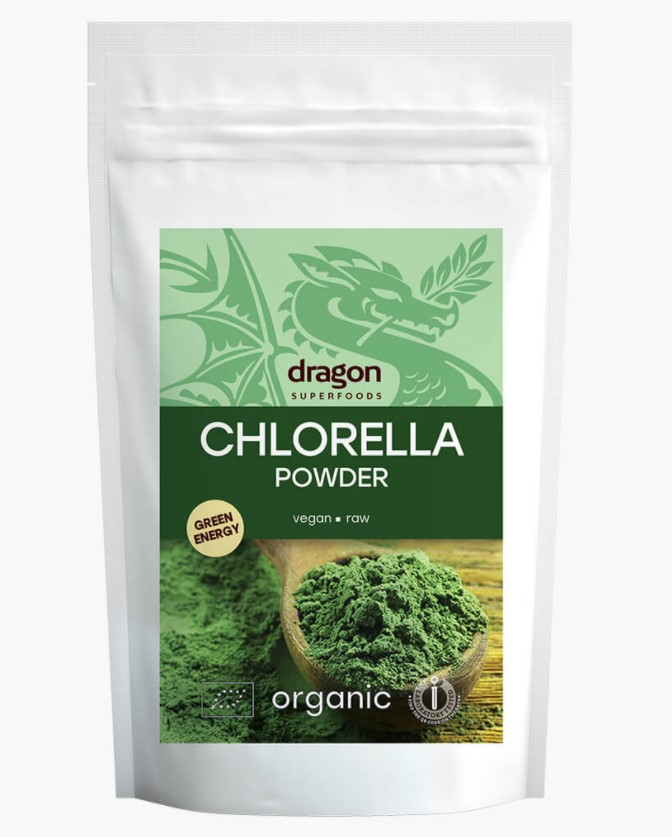 Dragon, Chlorella Powder, 200g