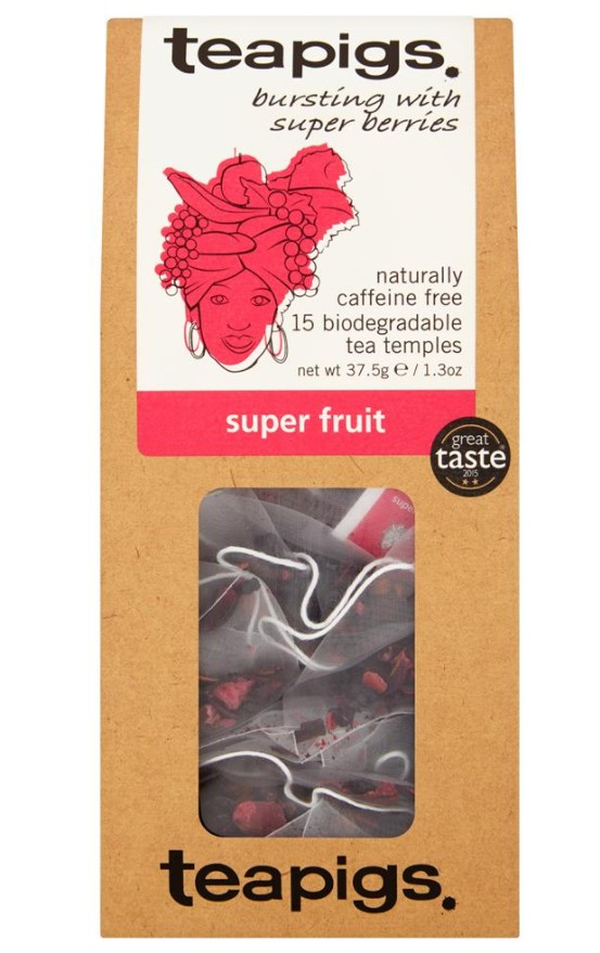 Teapigs, Super Fruit, 15 bags