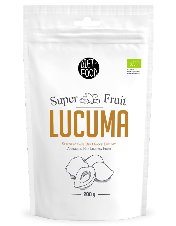 Diet-food, Lucuma Fruit Powder, 200g