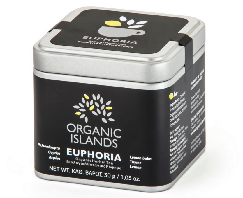 Organic Islands, Euphoria Herbal Tea, 30g