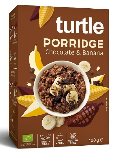 Turtle, Porridge Chocolate & Banana, 400g