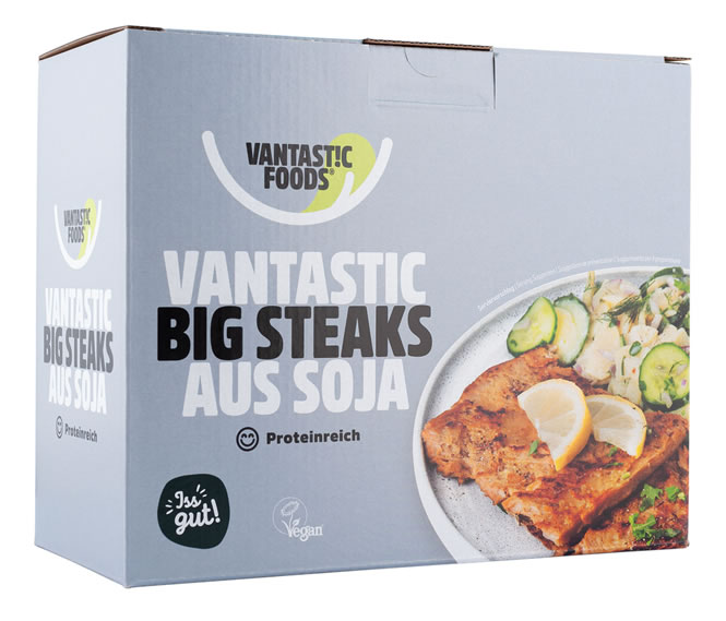 Vantastic foods, Big steaks soya, 500g