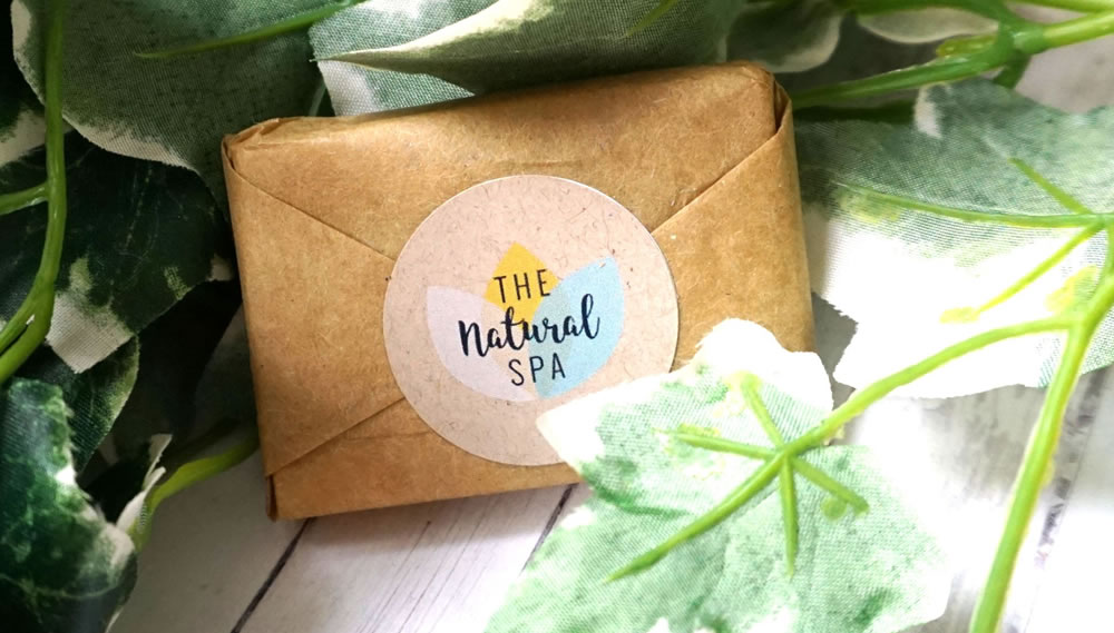 The Natural Spa, Wildflower Wisp Mini Soap Bar Travel Size, 15g