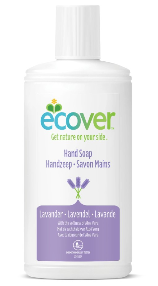 Ecover, Liquid Hand Soap Lavender & Aloe Vera, 250ml