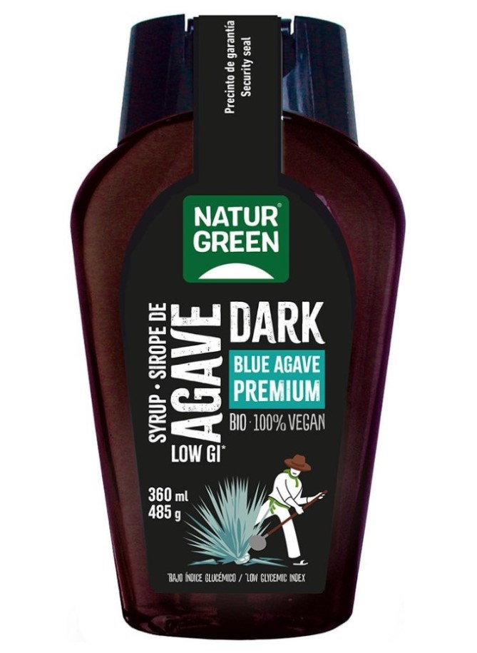 Naturgreen, Blue Agave Dark, 360ml