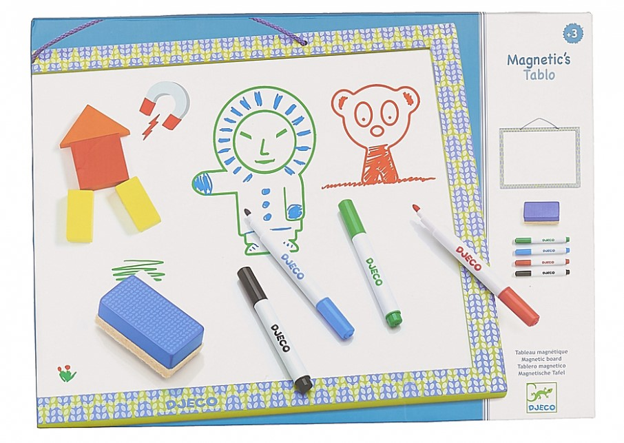 Djeco, Magnetic Board Tablo, 3+ years
