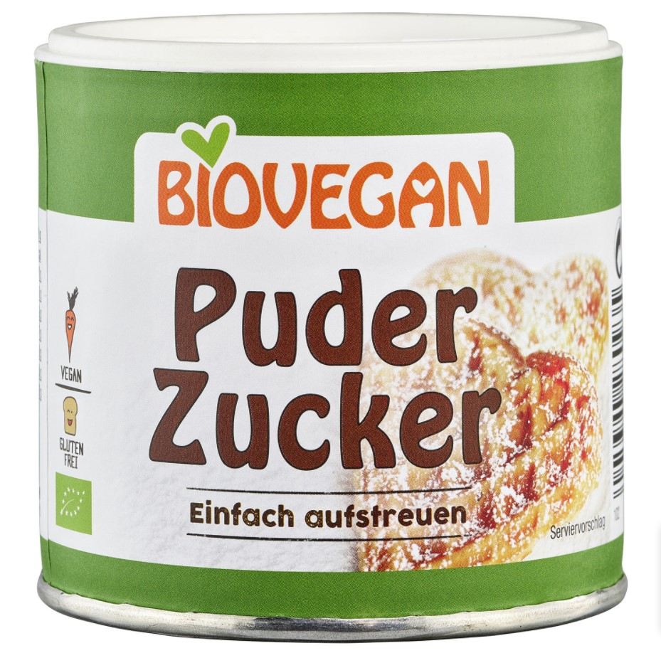 Biovegan, Sugar Powder, 150g