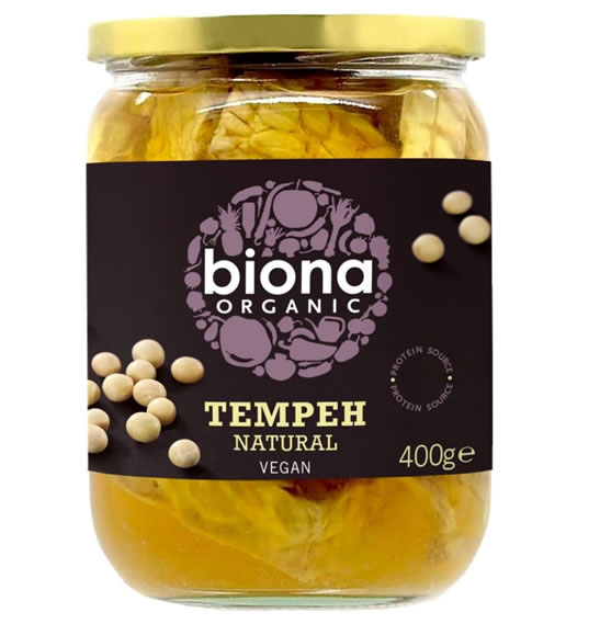 Biona, Tempeh Natural, 400g