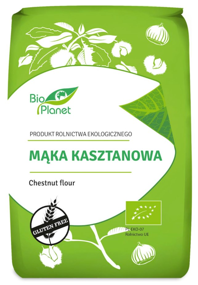 Bio Planet, Chestnut Flour, 400g