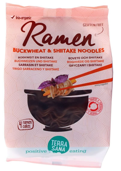 Terrasana, Ramen Buckwheat & Shiitake Mushrooms, 280g