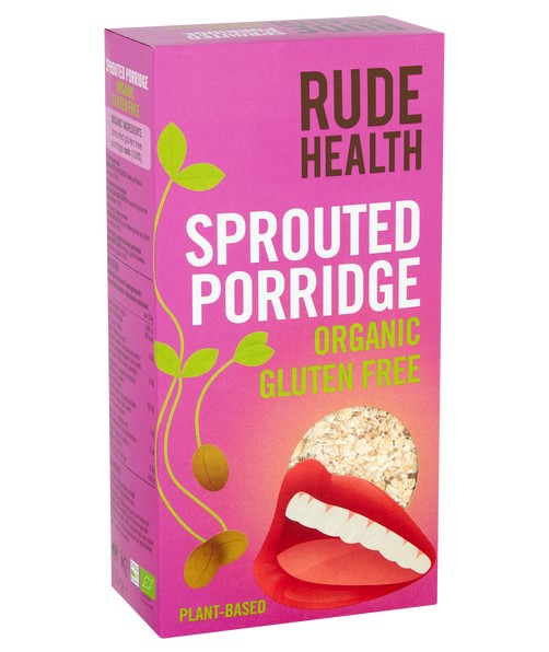 Rude Health, Sprouted Porridge Oats, 500g