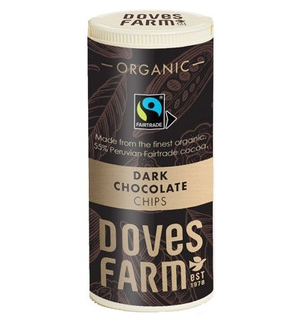 Doves Farm, Dark Chocolate Chips, 140g