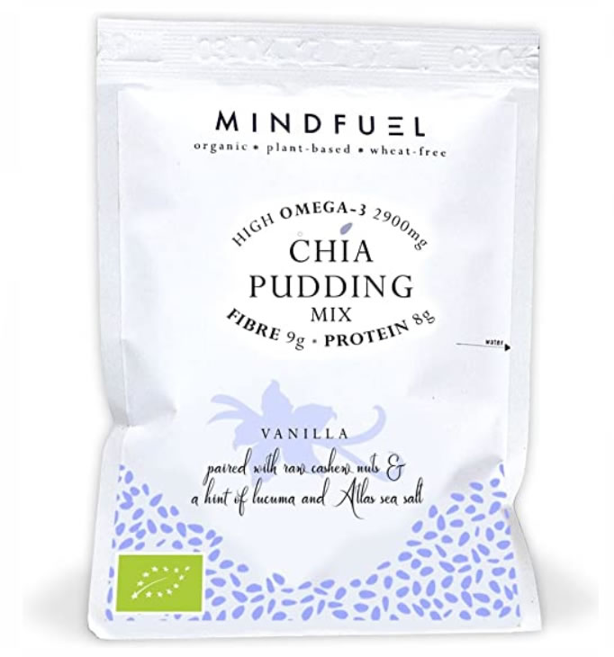 MindFuel, Chia Pudding Mix - Vanilla
